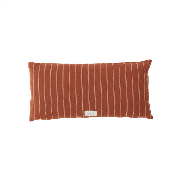 OYOY Living Design - OYOY LIVING Cushion Kyoto Long Cushion 405 Dark Sienna