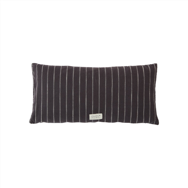 OYOY Living Design - OYOY LIVING Cushion Kyoto Long Cushion 201 Anthracite