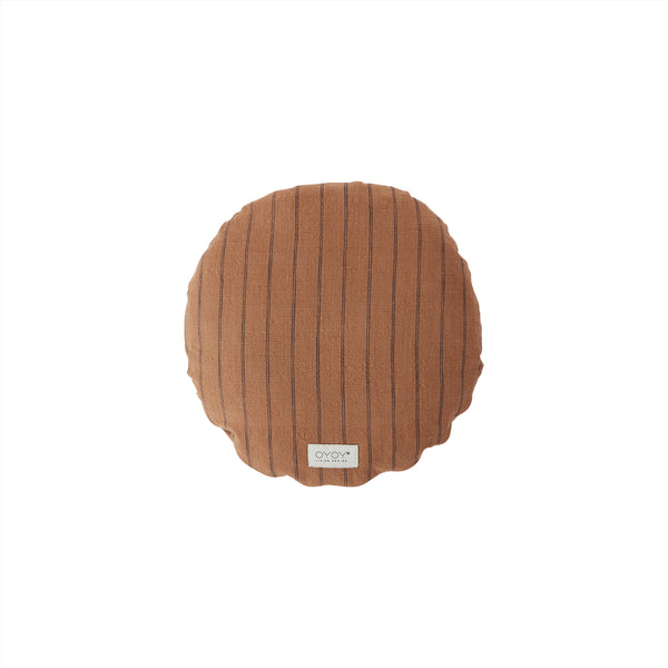 OYOY Living Design - OYOY LIVING Cushion Kyoto Round Cushion 308 Dark Caramel