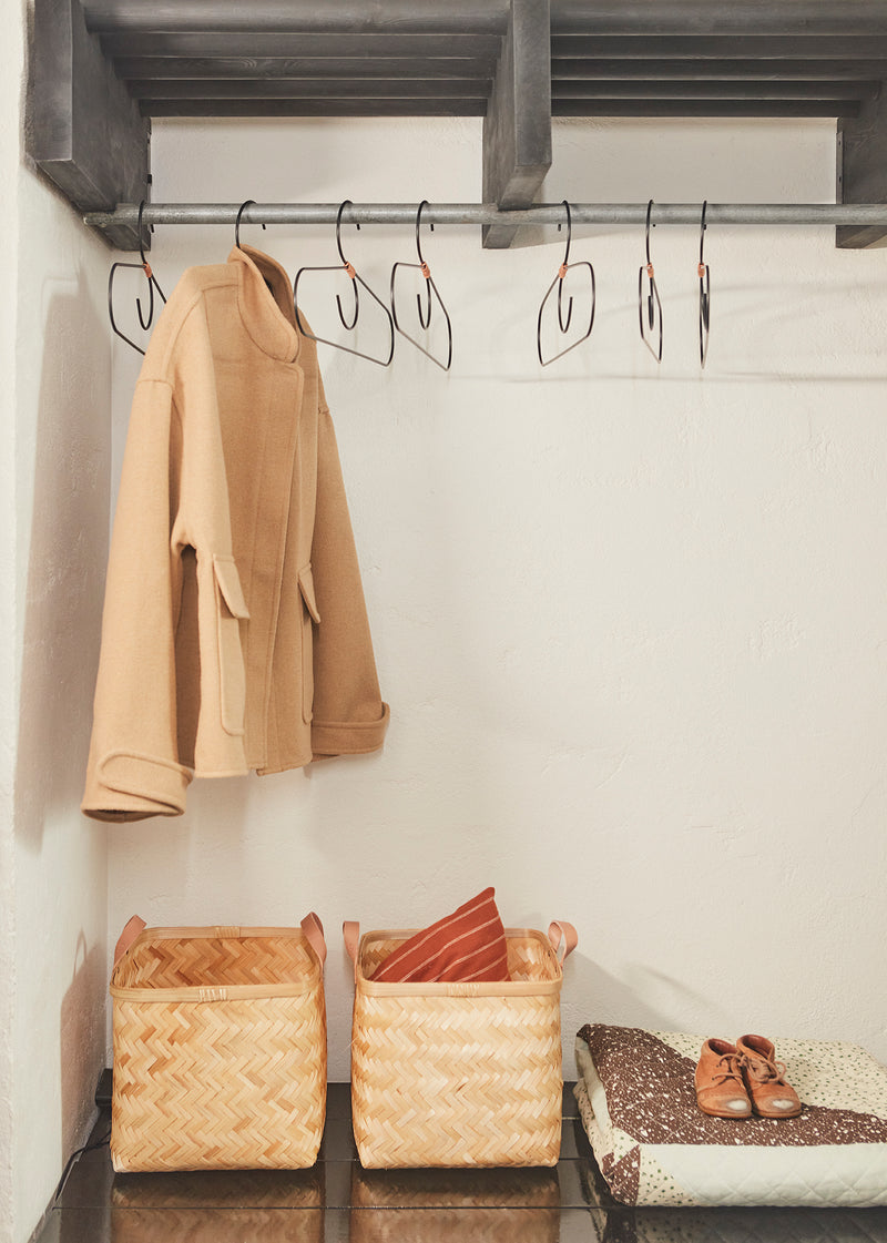 OYOY LIVING Fuku Hanger - Pack of 2 Accessories - Living 904 Brass