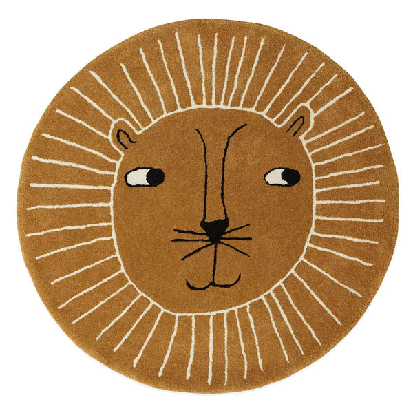 OYOY Living Design - OYOY MINI Lion Rug Rug 307 Caramel