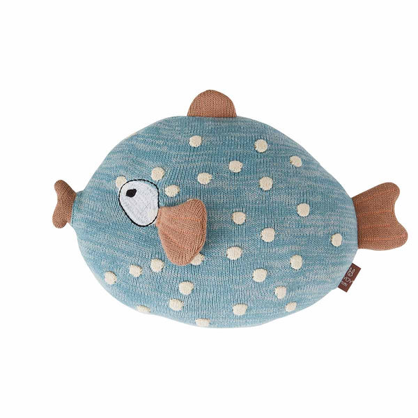 OYOY Living Design - OYOY MINI Little Finn Cushion Soft Toys 601 Blue