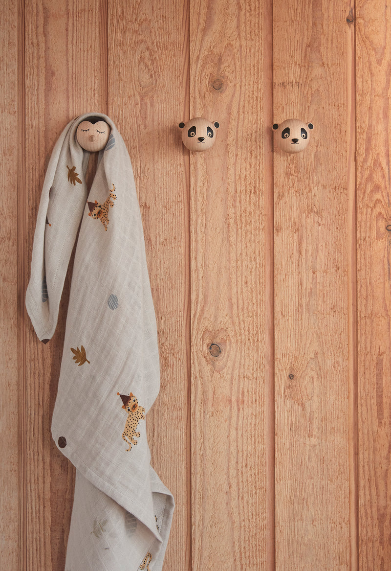 OYOY Living Design - OYOY MINI Mini Hook - Penguin Hook 901 Nature