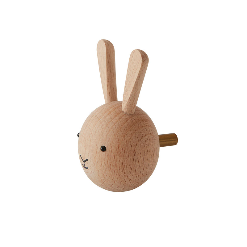 OYOY Living Design - OYOY MINI Mini Hook - Rabbit Hook 901 Nature