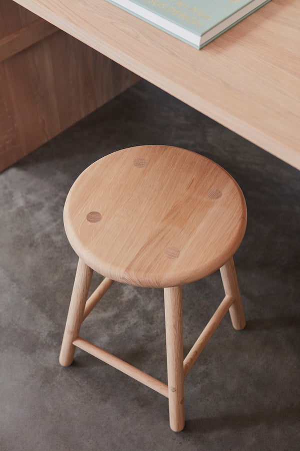 OYOY Living Design - OYOY LIVING Moto Stool - Low Stool 901 Nature