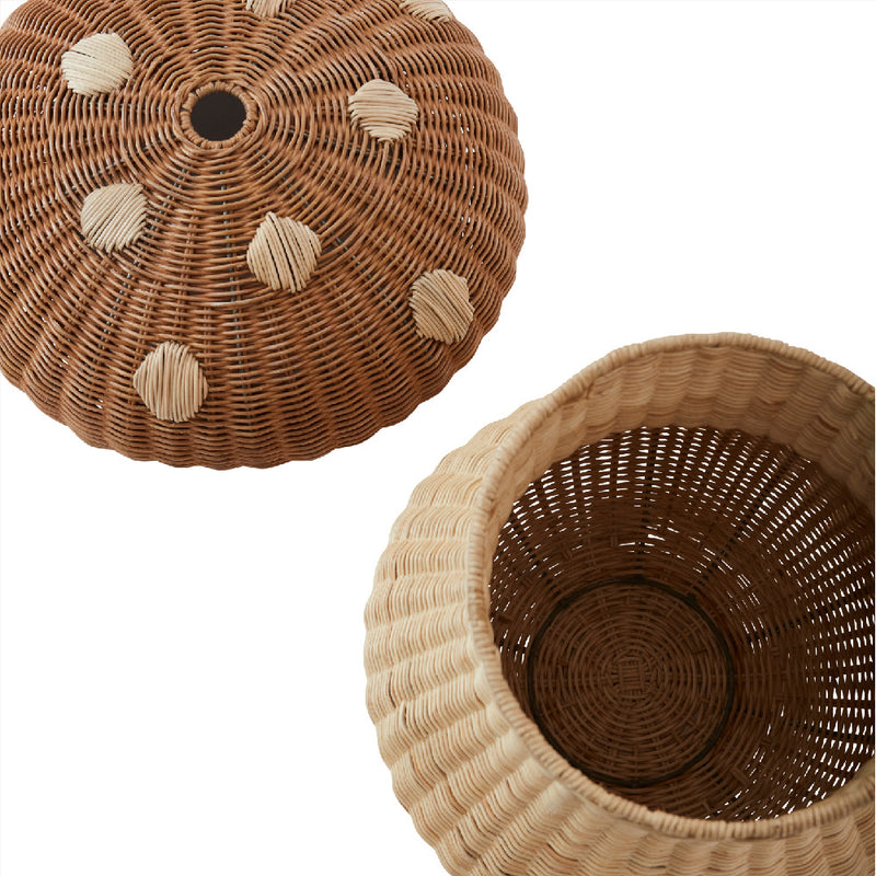 OYOY Living Design - OYOY MINI Mushroom Basket Storage 901 Nature