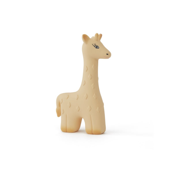 OYOY Living Design - OYOY MINI Noah Giraffe Baby Teether Rubber Toy 801 Yellow