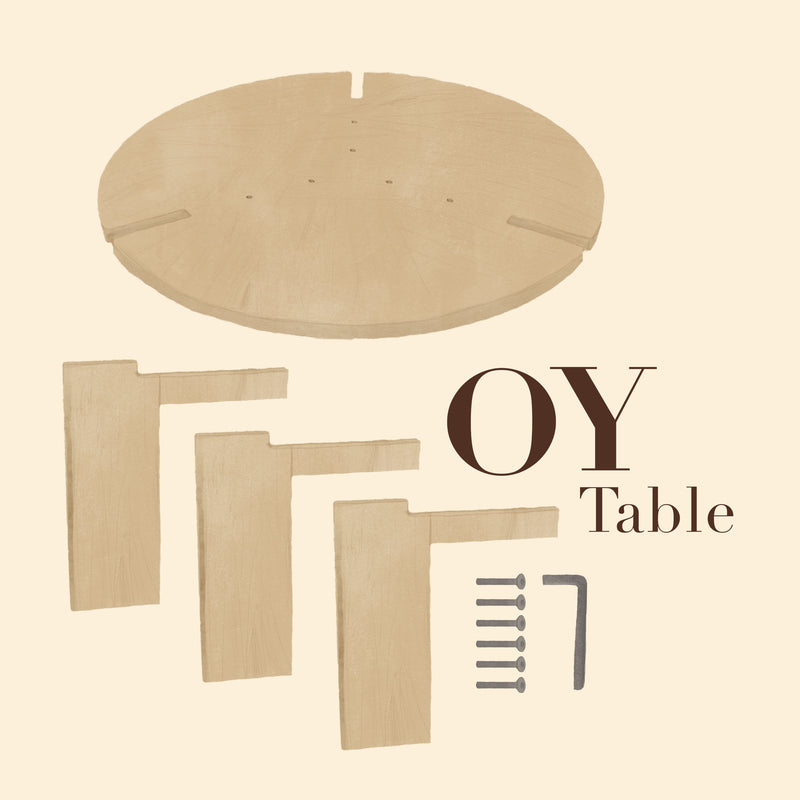 OYOY LIVING OY Coffee Table Large Coffee Table 901 Nature