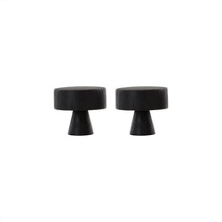 OYOY Living Design - OYOY LIVING Pin Hook Large - 2 Pcs/Pack Hook 910 Dark