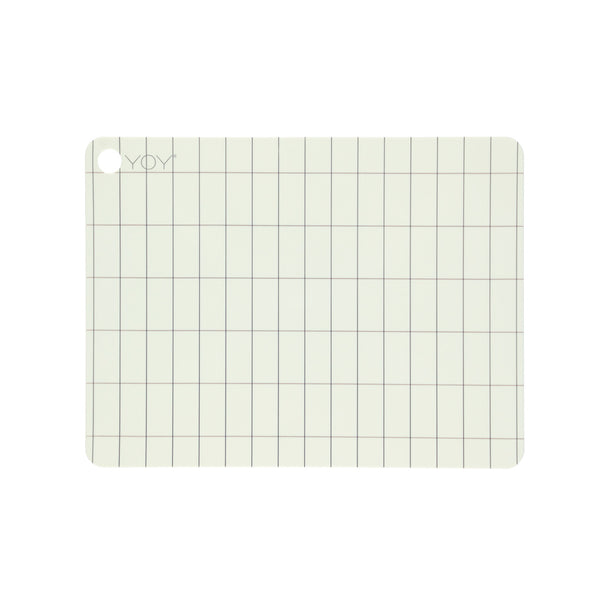 OYOY Living Design - OYOY LIVING Placemat Kukei - 2 Pcs/Pack Placemat 102 Offwhite