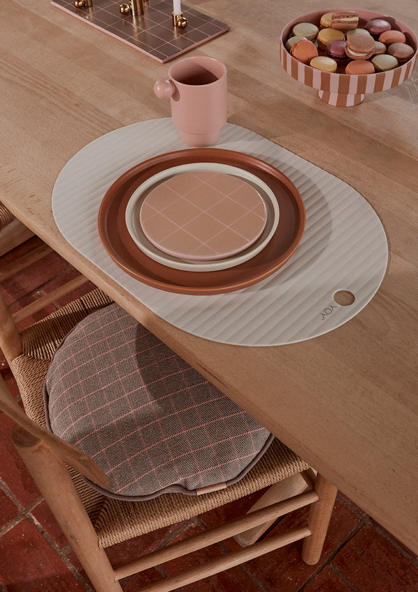 OYOY Living Design - OYOY LIVING Ribbo Placemat - 2 Pcs/Pack Placemat 102 Offwhite