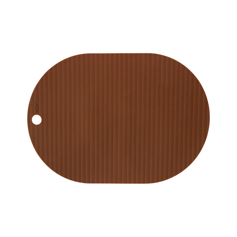 OYOY Living Design - OYOY LIVING Ribbo Placemat - 2 Pcs/Pack Placemat 307 Caramel