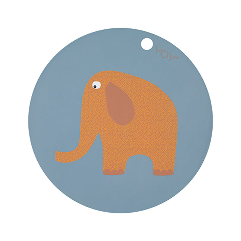 OYOY Living Design - OYOY MINI Placemat Elephant Placemat 605 Tourmaline