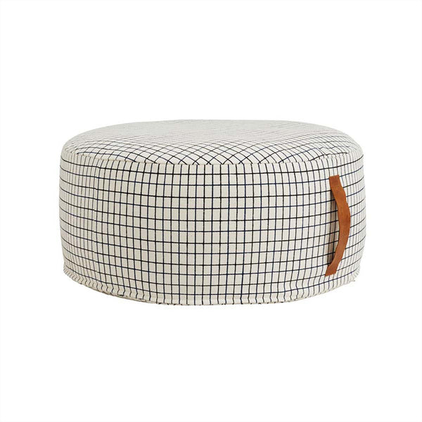 OYOY Living Design - OYOY LIVING Sit On Me Pouf - Round Pouf 102 Offwhite