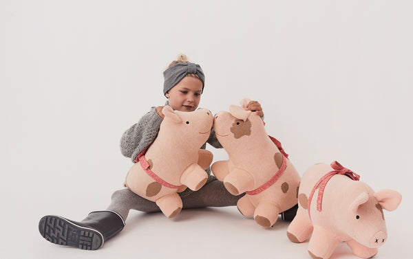 OYOY Living Design - OYOY LIVING Sofie The Christmas Pig Soft Toys 402 Rose