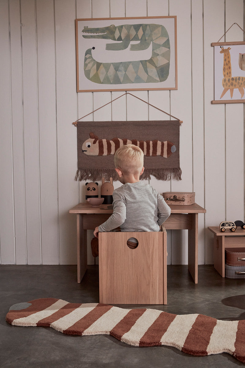 OYOY Living Design - OYOY MINI Stool Arca for kids Stool 901 Nature