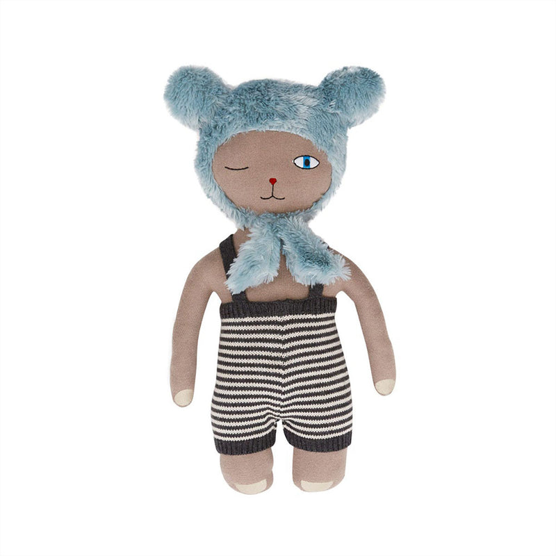 OYOY Living Design - OYOY MINI Topsi Bear Doll Soft Toys 306 Clay