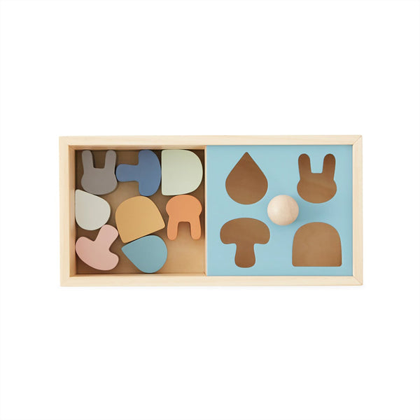 OYOY Living Design - OYOY MINI Wooden Puzzle Box Wooden Toy 901 Nature
