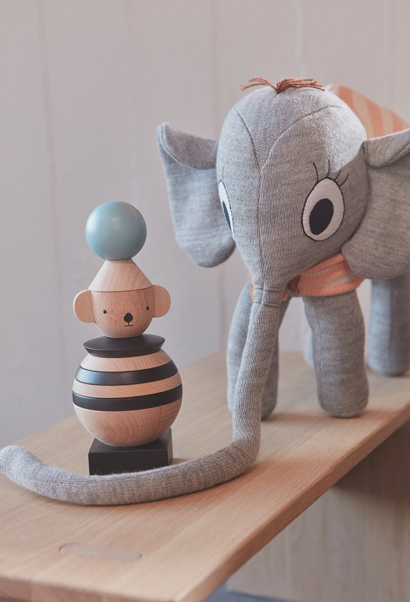 OYOY Living Design - OYOY MINI Wooden Stacking Koala Wooden Toy 901 Nature