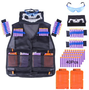 NERF Shooting Tactical Kit vest Suit