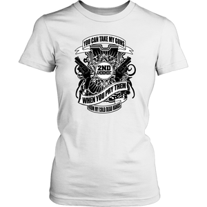 My Cold Dead Hands Tee -- Women's