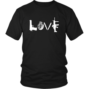 LOVE Men's Short Sleeve T-shirt -- Limited Edition