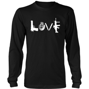 LOVE Men's Long Sleeve T-shirt --Limited Edition