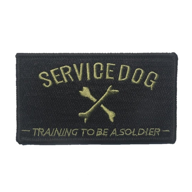 Dog Soldier-in-Training