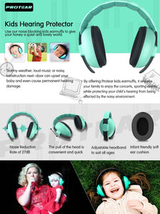Baby/child Hearing Protector for 3 Months-4 Years Old