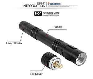 900 Lumen Pen Flashlight
