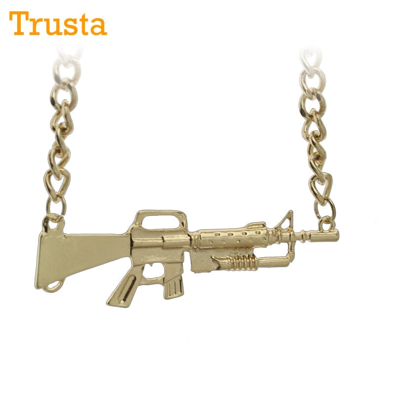 Golden Carbine™️ Necklace