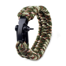 Load image into Gallery viewer, Survival Paracord Bracelet