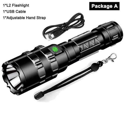 Pentamodal™️ LED Tactical Flashlight