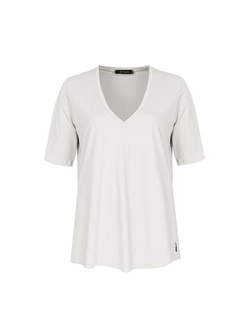 VENI V Yaka Basic T-shirt