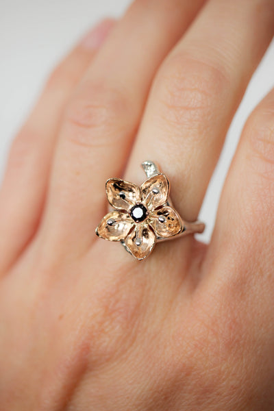 Final payment for apple blossom ring - Eden Garden Jewelry