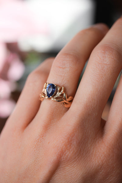 Custom engagement ring, final payment - Eden Garden Jewelry