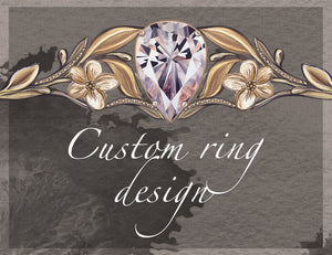 Bespoke engagement ring design - Eden Garden Jewelry