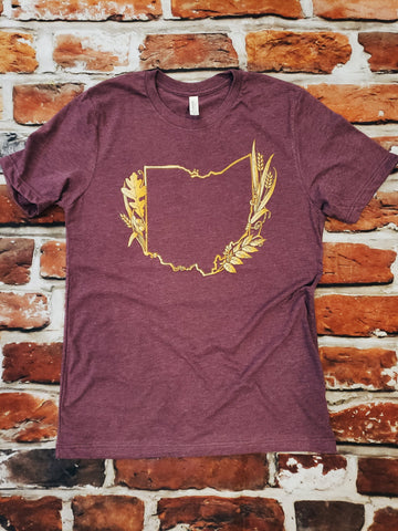 Fall in Ohio unisex tshirt