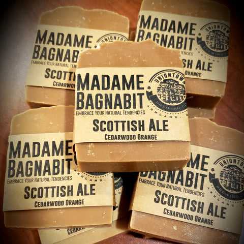 Scottish Ale Cedarwood Orange soap bar