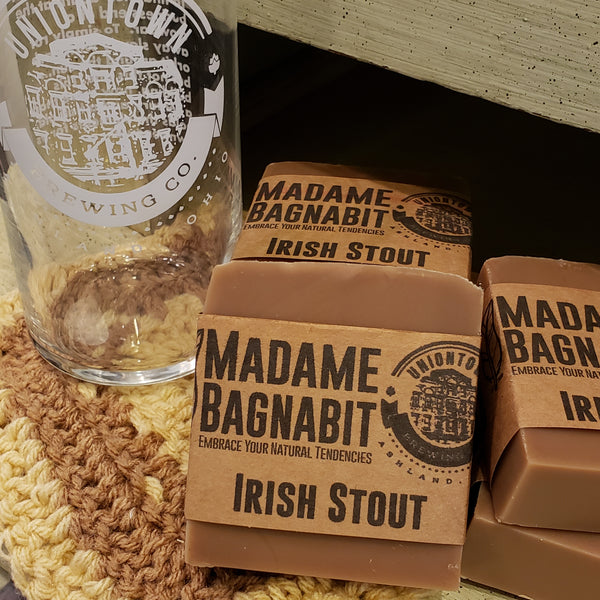 Irish Stout beer soap
