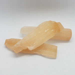 "3"" orange selenite sticks"