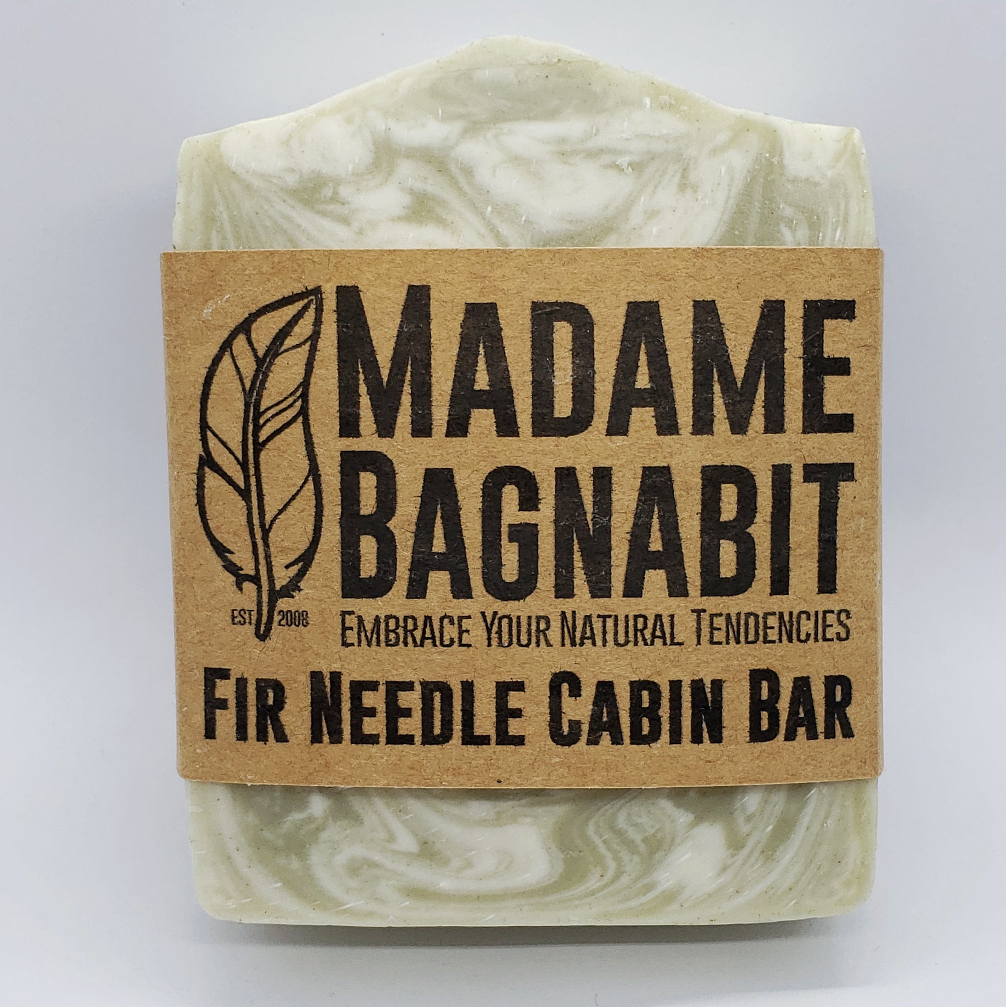 Fir Needle Cabin Bar soap