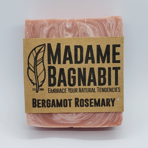 Bergamot Rosemary soap bar