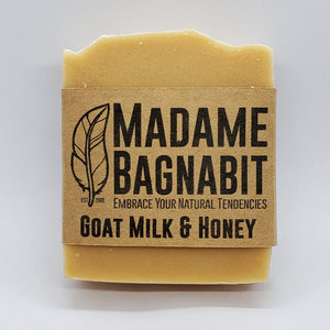 Goat Milk & Honey soap bar
