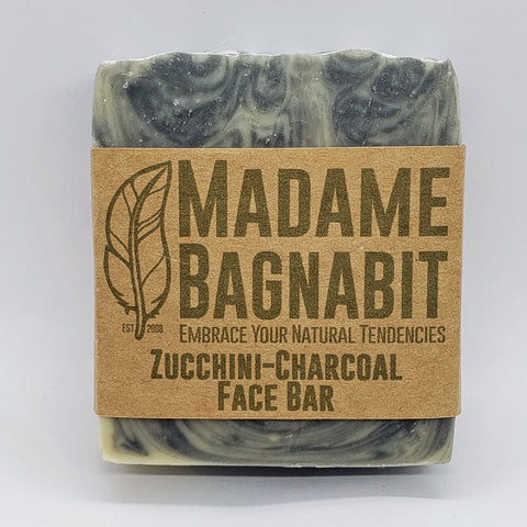 Zucchini Charcoal face bar