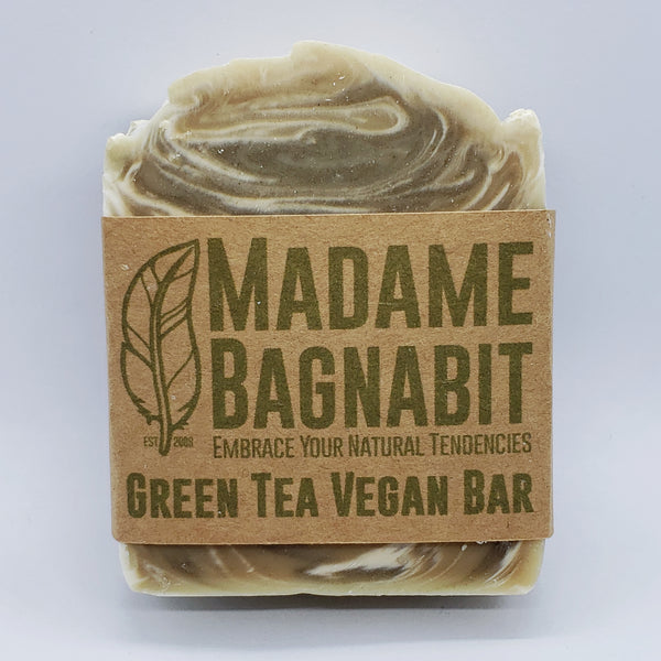 Green Tea *Vegan* soap bar