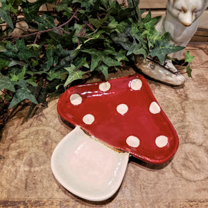 Toadstool tray