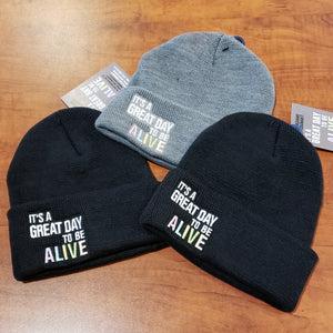 Great Day to be ALIVE beanies