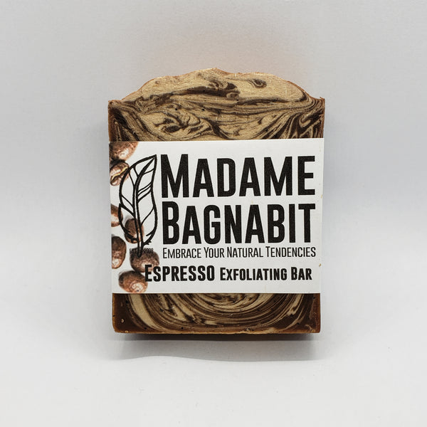 Espresso Exfoliating bar