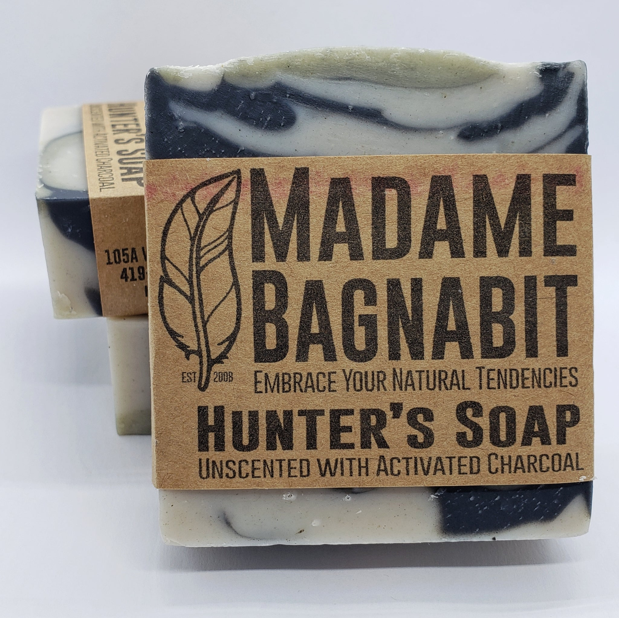 Hunter's unscented soap bar